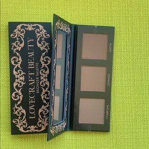 2/$18 BRAND NEW Lovecraft Beauty Bronzer Palette